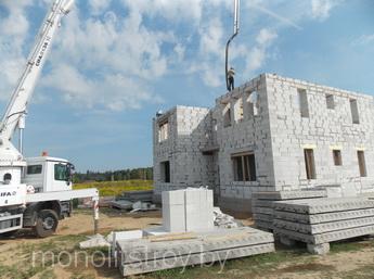 строительство домов, фото
