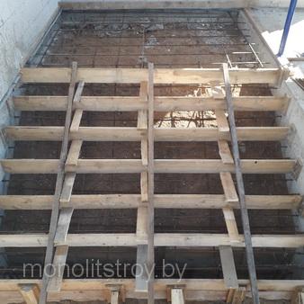 строительство лестниц из бетона для частного дома