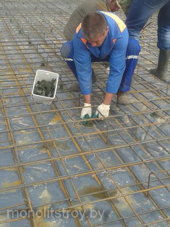 бетонная монолитная плита