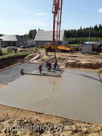 монолитные бетонные работы, фото