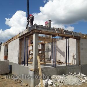 строительный пояс из бетона , фото